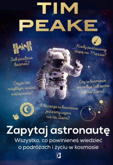 Zapytaj astronautę - okładka