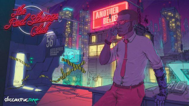 Red Strings Club - grafika promocyjna