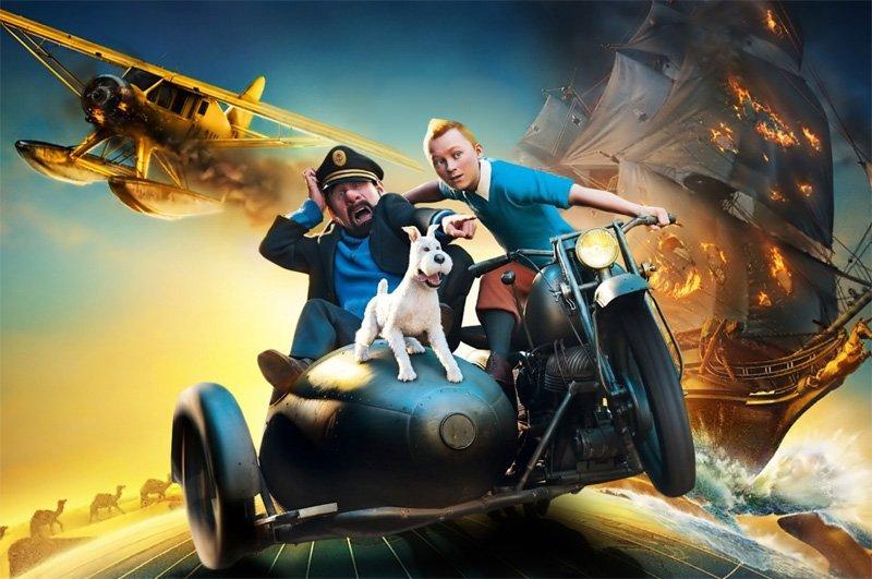Kiedy będą Przygody Tintina 2? Spielberg komentuje