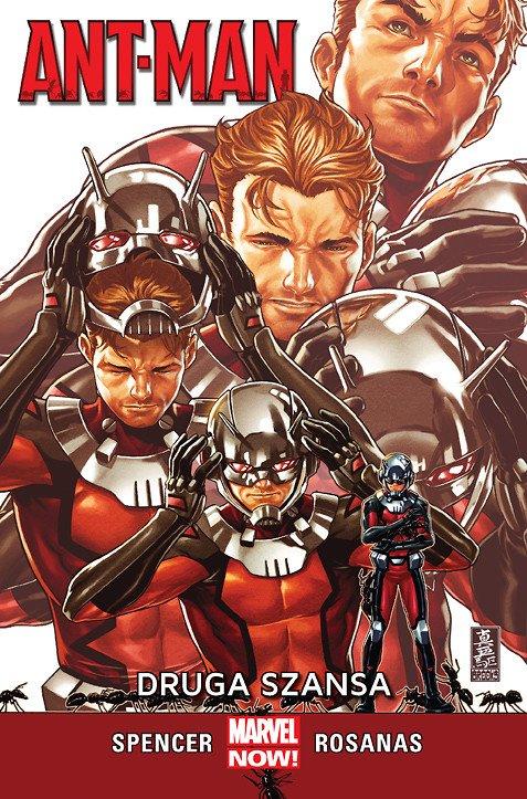 Ant-Man – Druga szansa - okładka