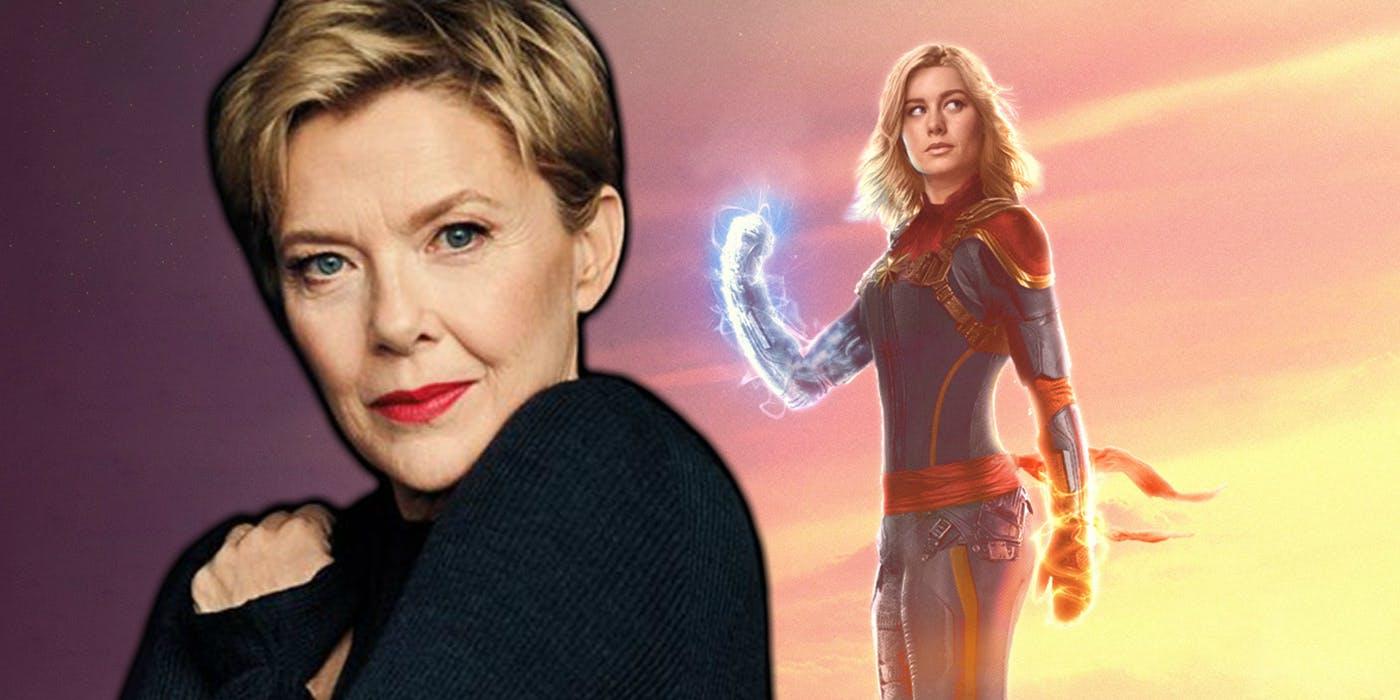 Obsada Captain Marvel lśni. Annette Bening pojawi się w filmie