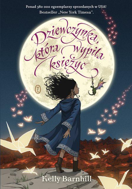 Dziewczynka, która wypiła księżyc - okładka
