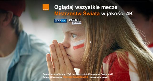 Mistrzostwa Świata w 4K w Orange