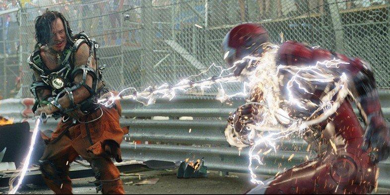 Lepiej czy gorzej? Whiplash w filmie Iron Man 2 mógł wyglądać inaczej – grafiki