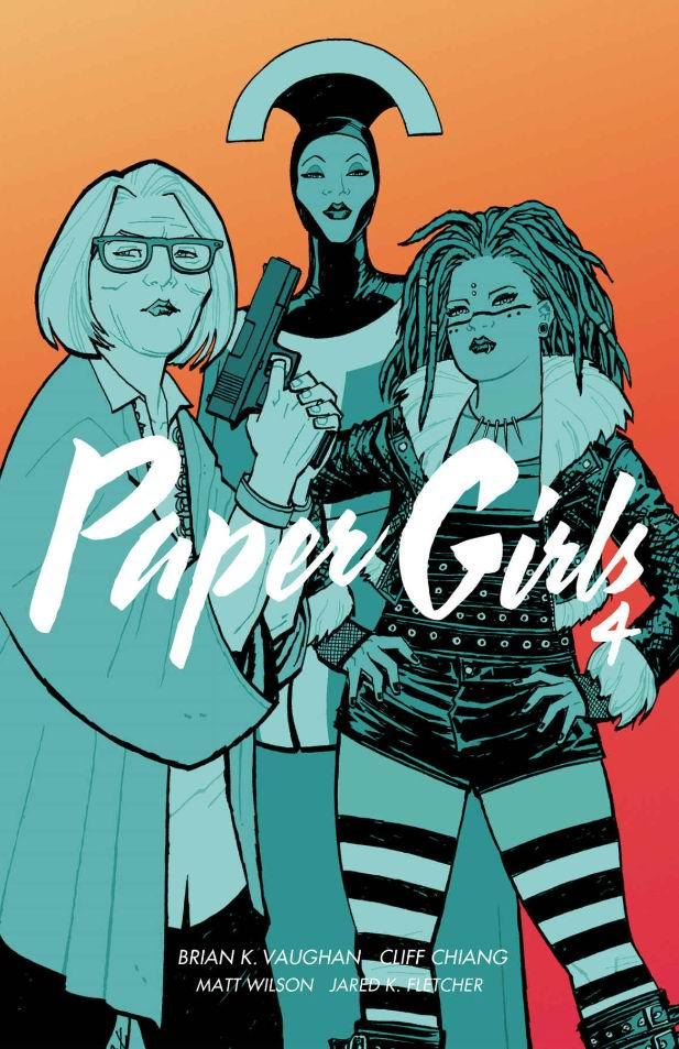 Paper Girls, tom 4 - okładka