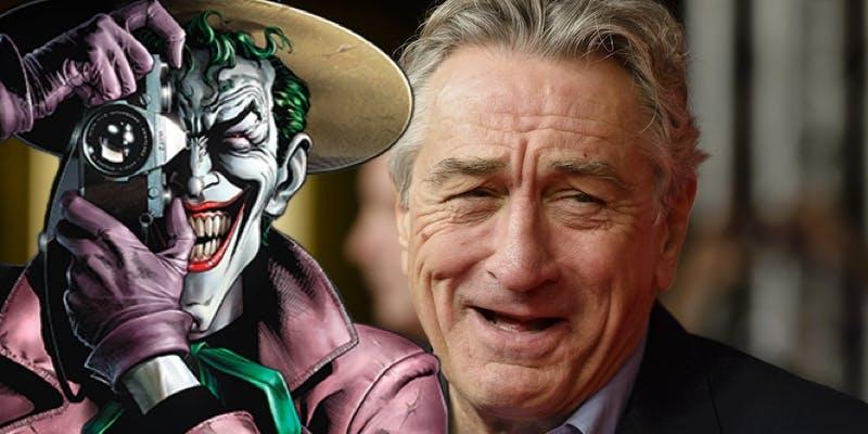 DC spuszcza bombę: Robert De Niro w filmie o genezie Jokera?