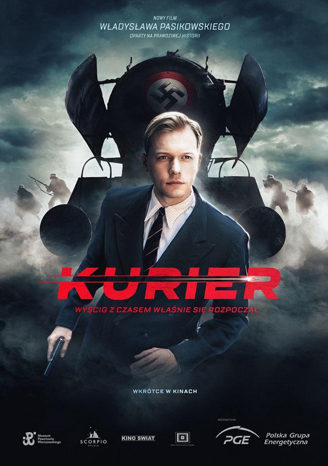 Kurier - plakat filmu Władysława Pasikowskiego