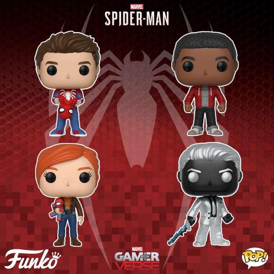 Funko POP! - figurki z gry Spider-Man
