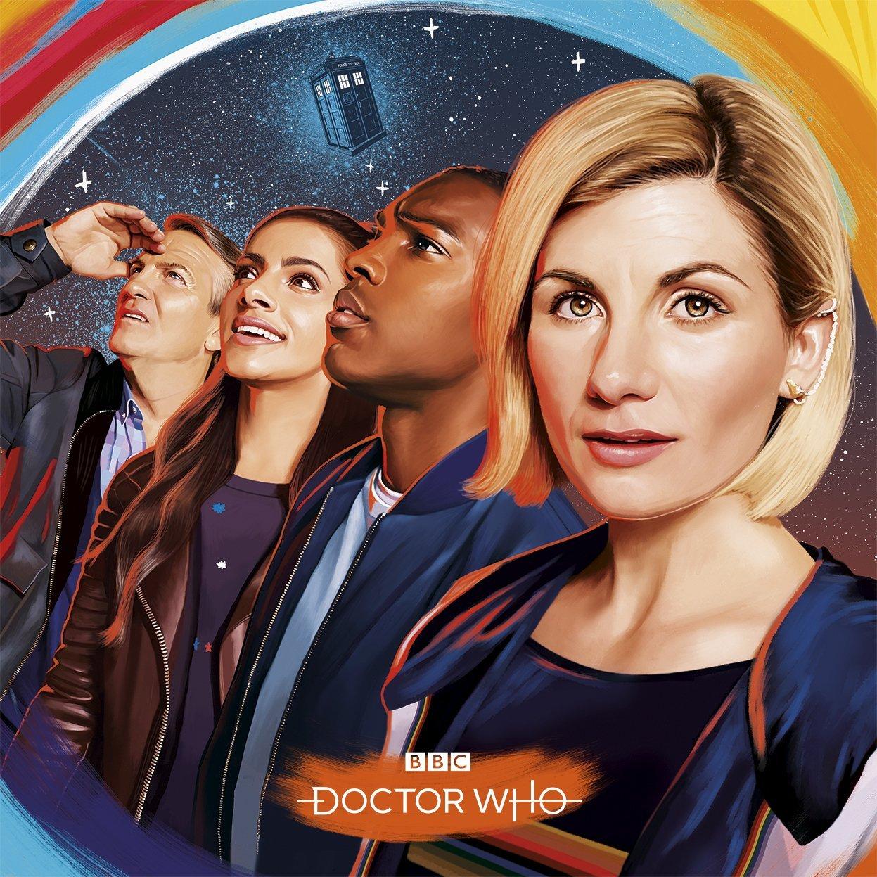 Doktor Who - plakat 11. sezonu
