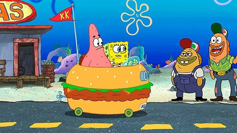 SpongeBob Kanciastoporty zalicza cameo podczas Super Bowl 2019