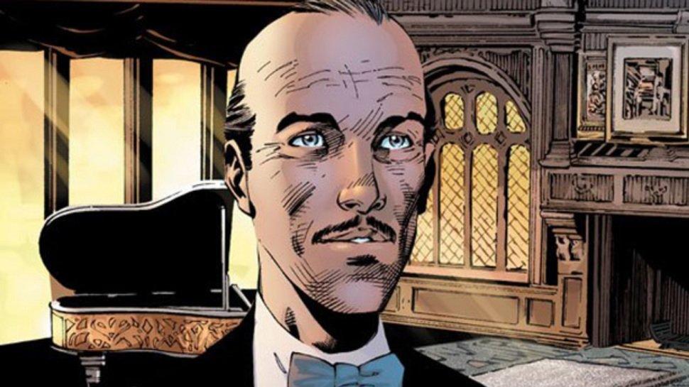 Jack Bannon jako Pennyworth we własnym serialu. Lokaj Batmana obsadzony