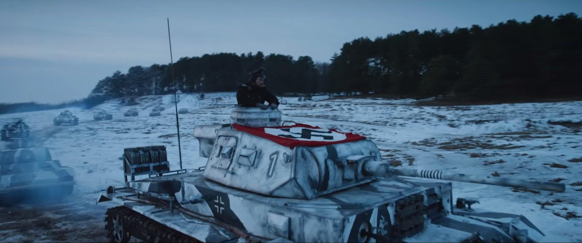 Czołg na polu bitwy. Zwiastun widowiska T-34