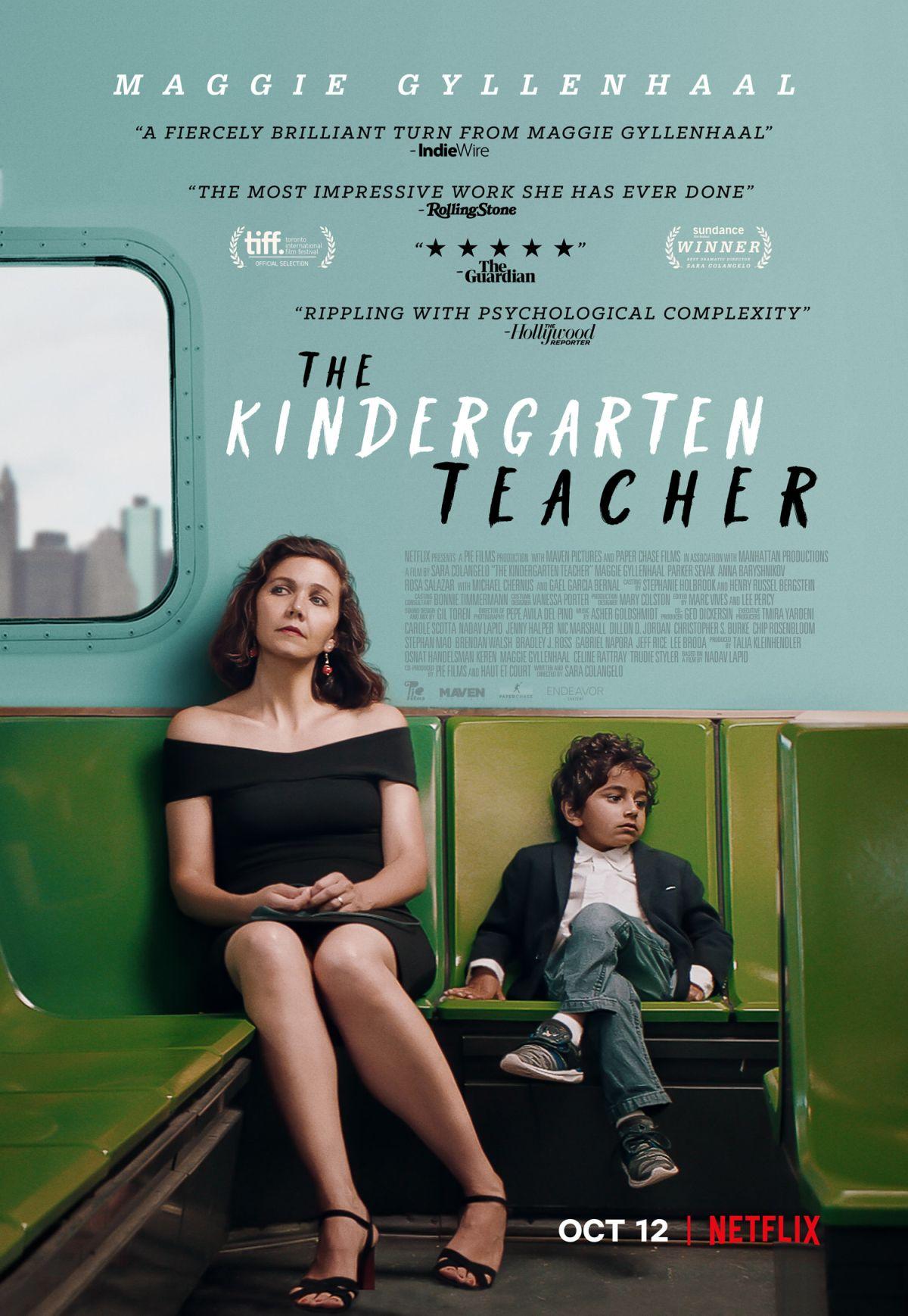 The Kindergarten teacher - plakat