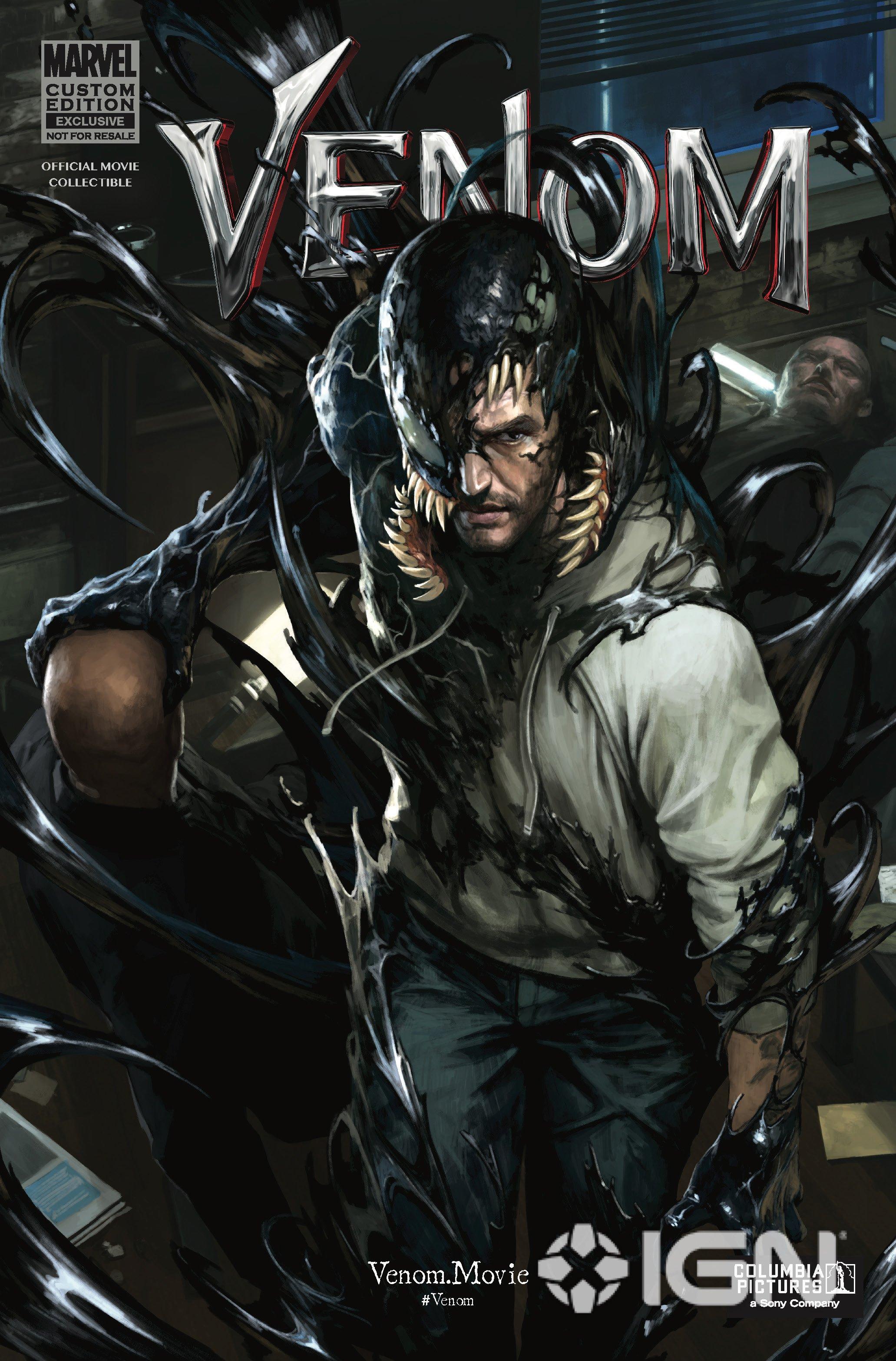Venom - okładka komiksu