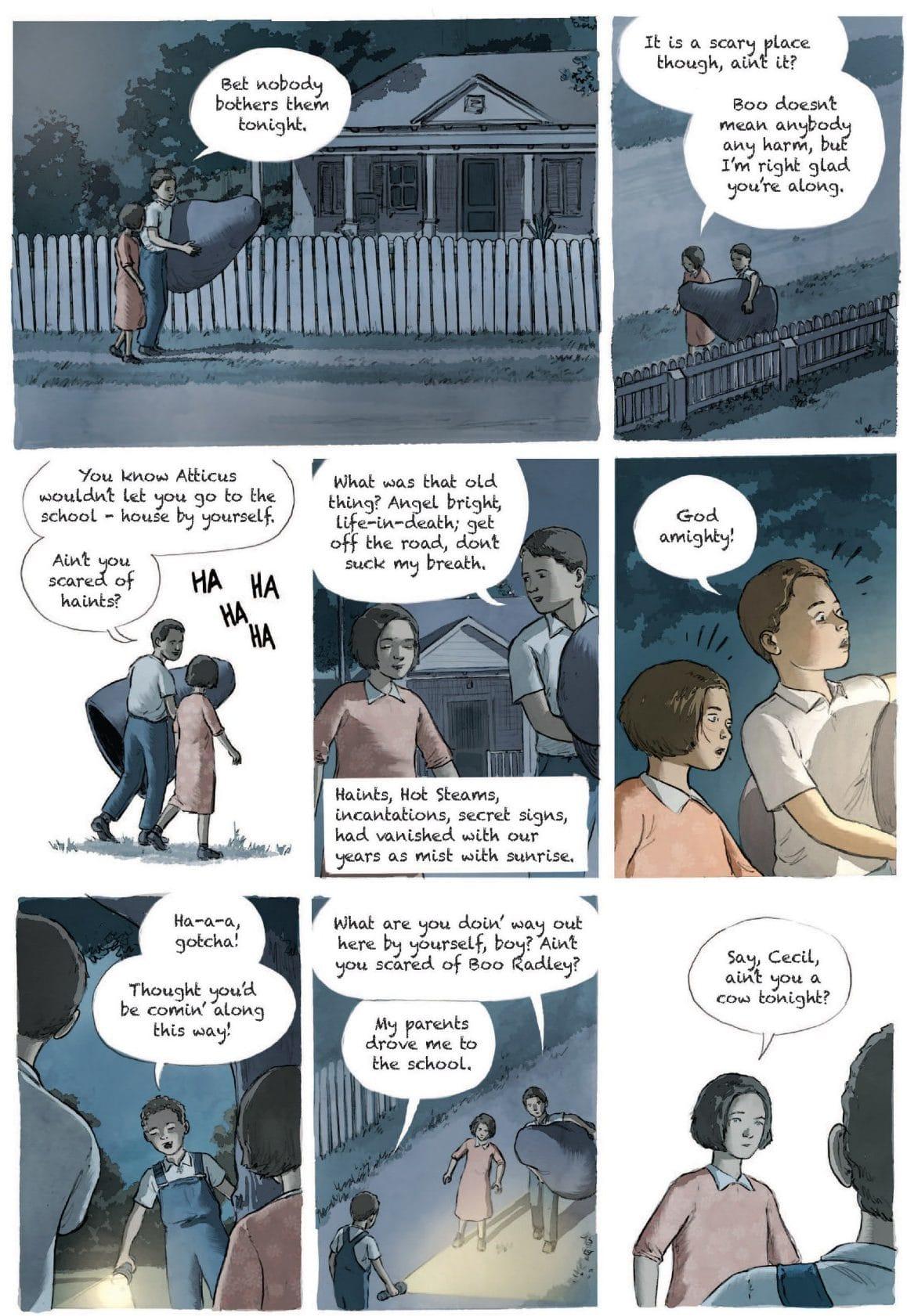 Zabić drozda - komiks