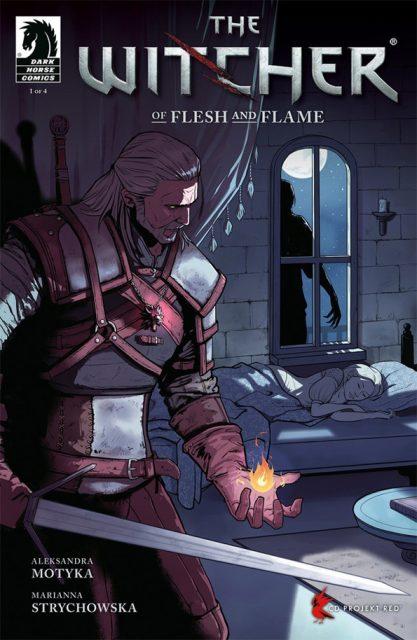 The Witcher Of Flash and Flame - okładka komiksu