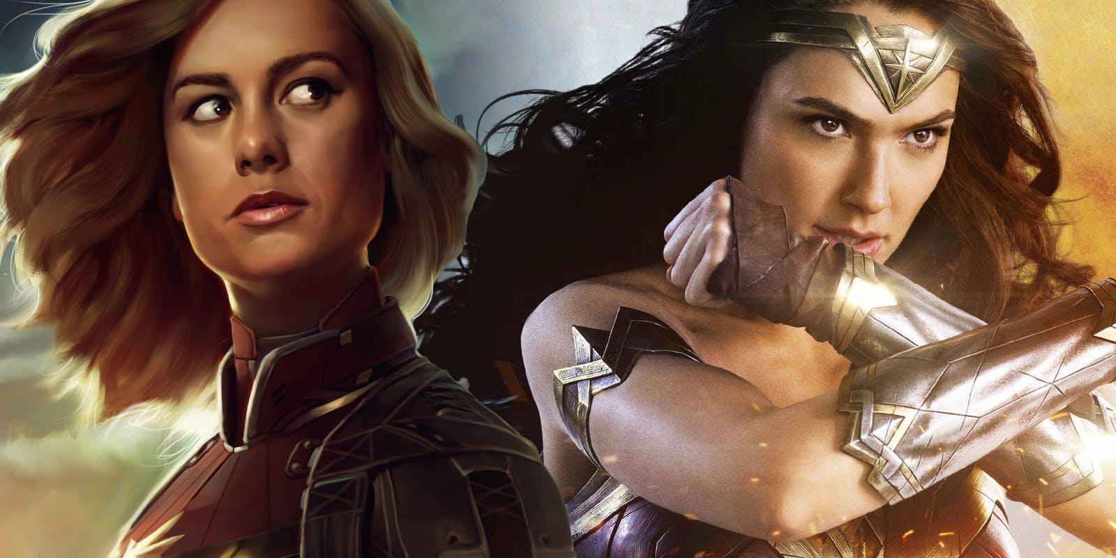 Captain Marvel marvelowską Wonder Woman?