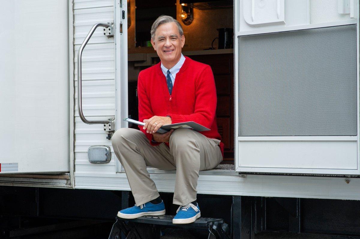 Tom Hanks jako Mr. Rogers