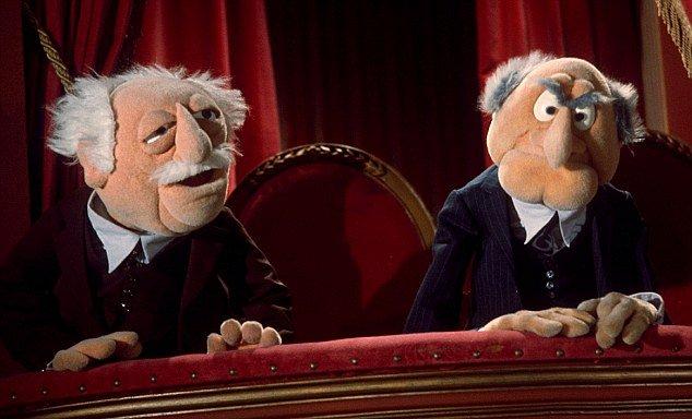 loża szyderców muppet