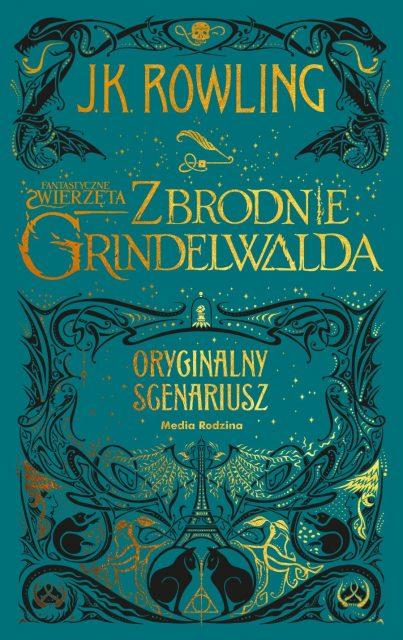zbrodnie grindelwalda - okładka