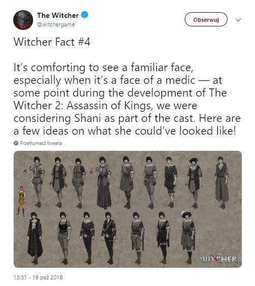 Shani w grze Wiedźmin 2: Zabójcy Królów