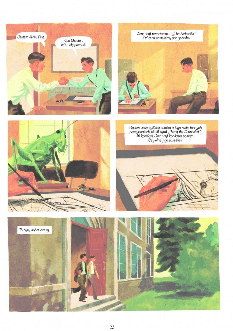 Joe Shuster. Opowieść o narodzinach Supermana