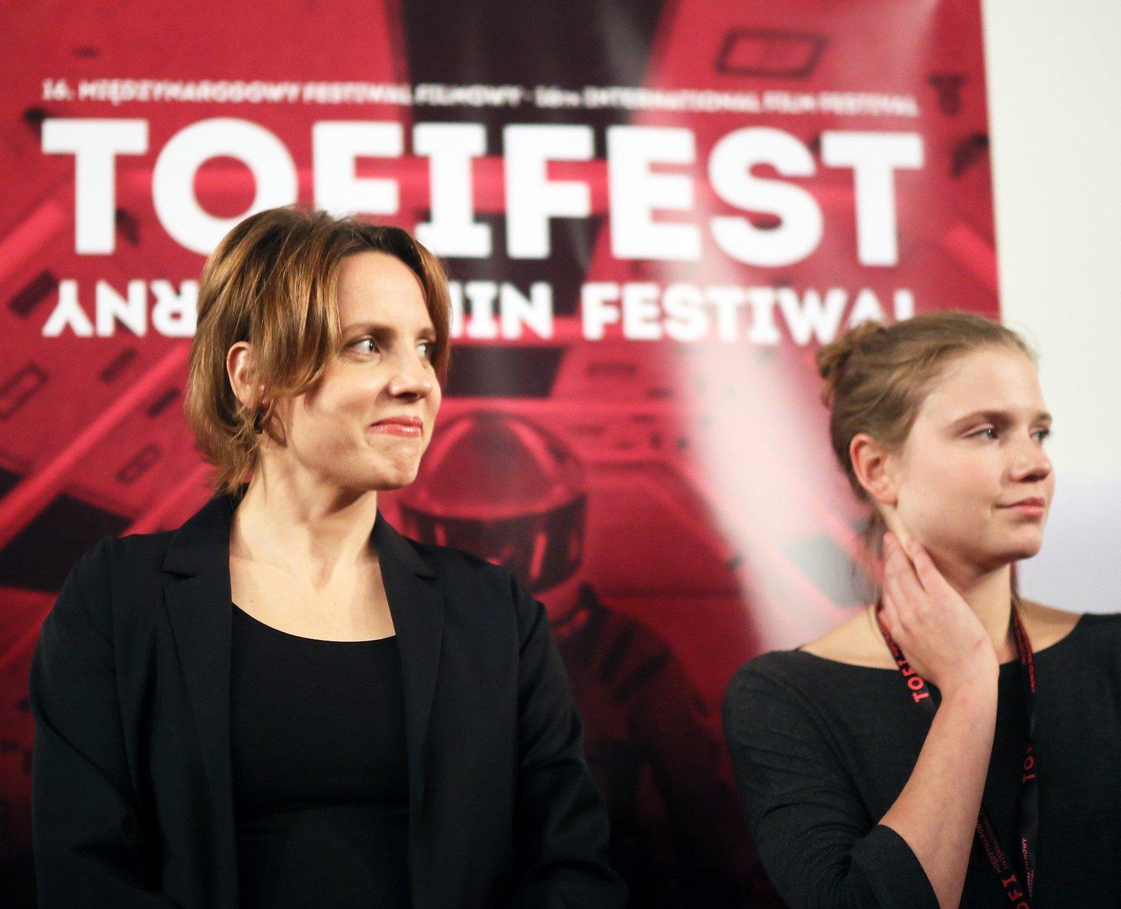 Julia Kijowska na Tofifest 2018