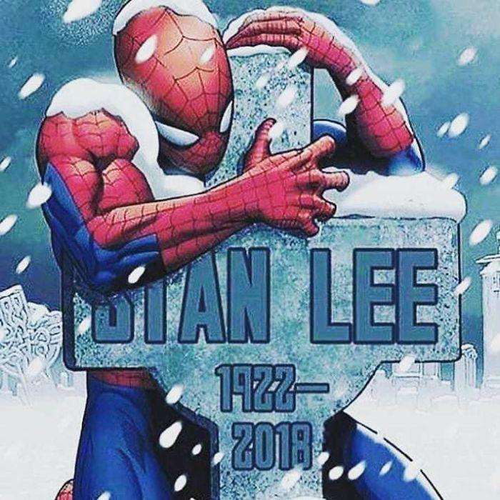 Hołd dla Stana Lee - grafika