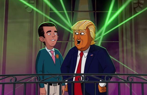 Our Cartoon President – zwiastun odcinka specjalnego