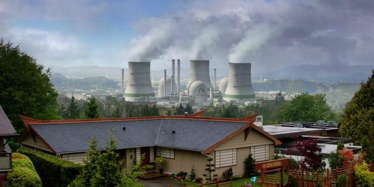"""Założenie przez Monarch placówki w mieście Janira w Japonii sugeruje, że pojawiła się tu roślina, która pochłania energię nuklearną - to najprawdopodobniej nowa roślina, nie ta, którą widzieliśmy w filmie """"Godzilla"""" z 2014 roku"""