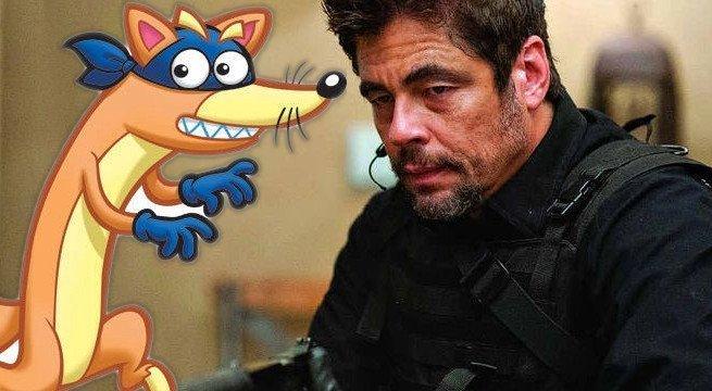 Dora poznaje świat – Benicio Del Toro jako złoczyńca w aktorskim filmie
