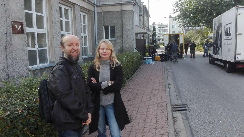 Adam Siennica i Magda Cielecka