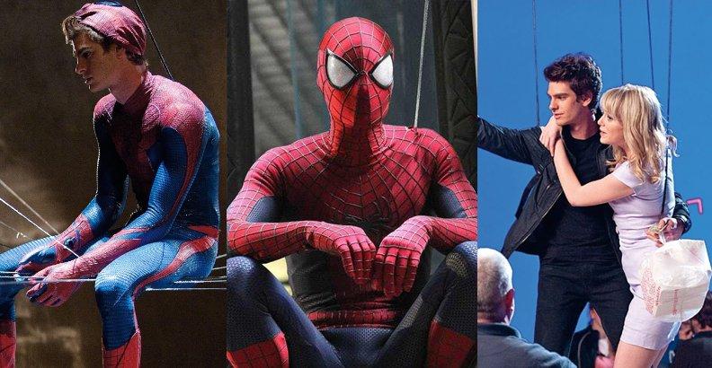 Zanim wszedł do MCU… Niesamowity Spider-Man – unikalne zdjęcia z planu