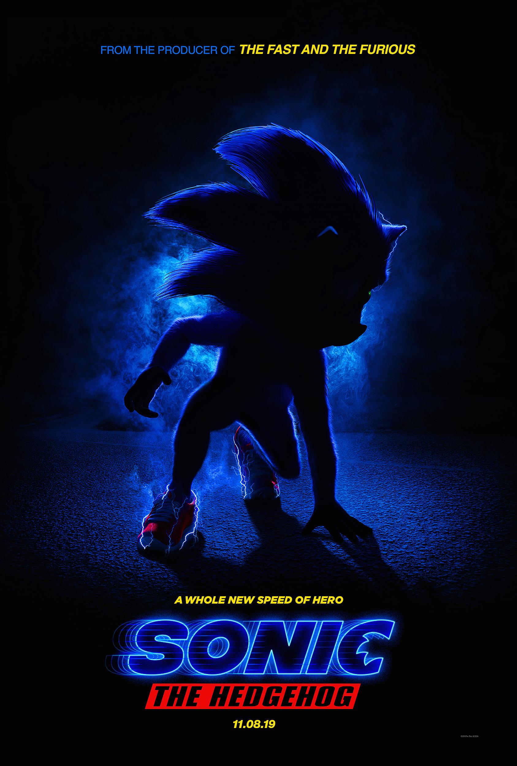 Sonic the Hedgehog - plakat