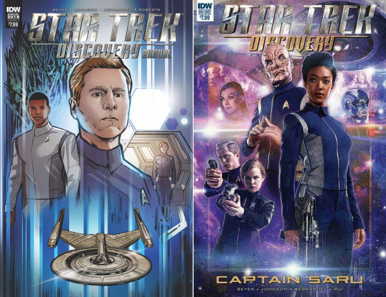 Tylko niektóre komiksy Discovery poświęcone są Gwiezdnej Flocie. / Fot. IDW