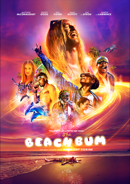 The Beach Bum - plakat
