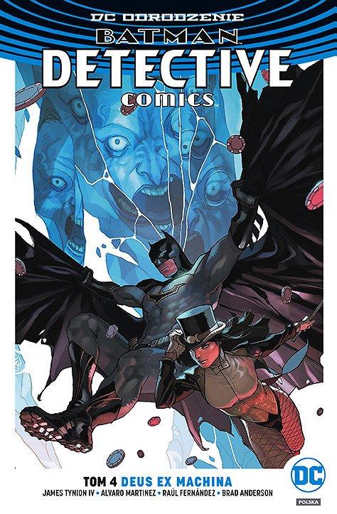 Batman – Detective Comics – Deus Ex Machina, tom 4 - okładka