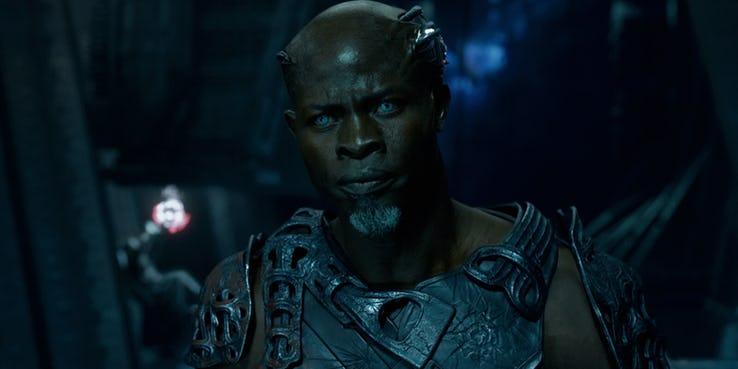 Djimon Hounsou - Korath w MCU, Papa Midnite w filmie