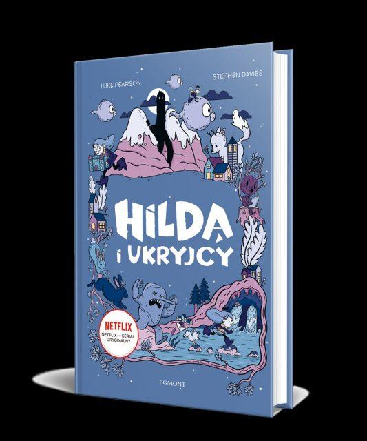 Hilda i Ukryjcy - okładka 3D