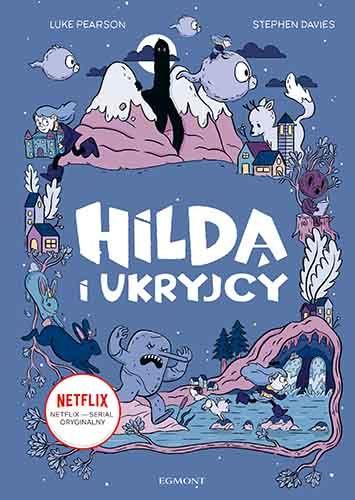 Hilda i Ukryjcy - okładka