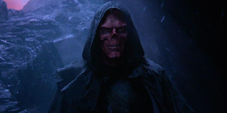 Avengers: Wojna bez granic – Red Skull jak Gollum. Zobacz szkice