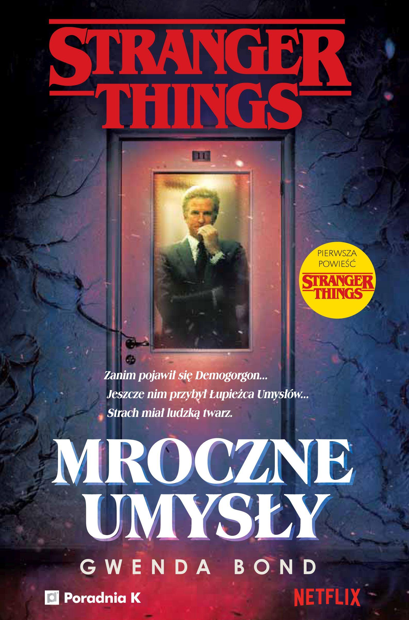 Stranger Things. Mroczne umysły - okładka