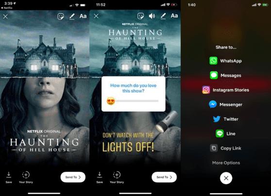 Użytkownicy iOS-a udostępnią ulubione filmy z Netflixa na Instagramie