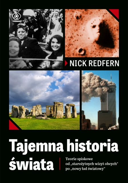 Tajemna historia świata - okładka