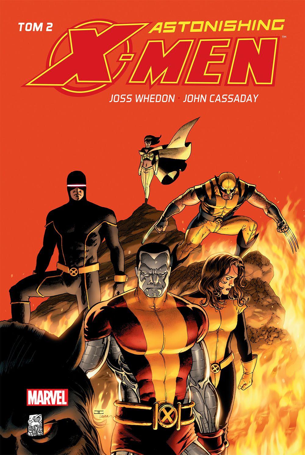 Astonishing X-Men. Tom 2 - okładka