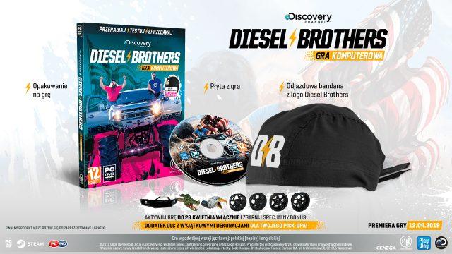 Discovery: Diesel Brothers - wydanie pudełkowe