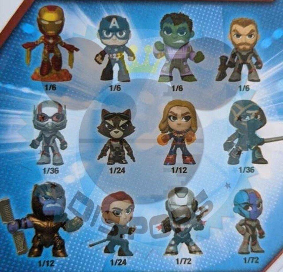Avengers: Koniec gry - zabawki