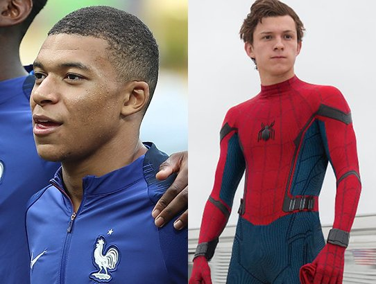 Spider-Man/Mbappe