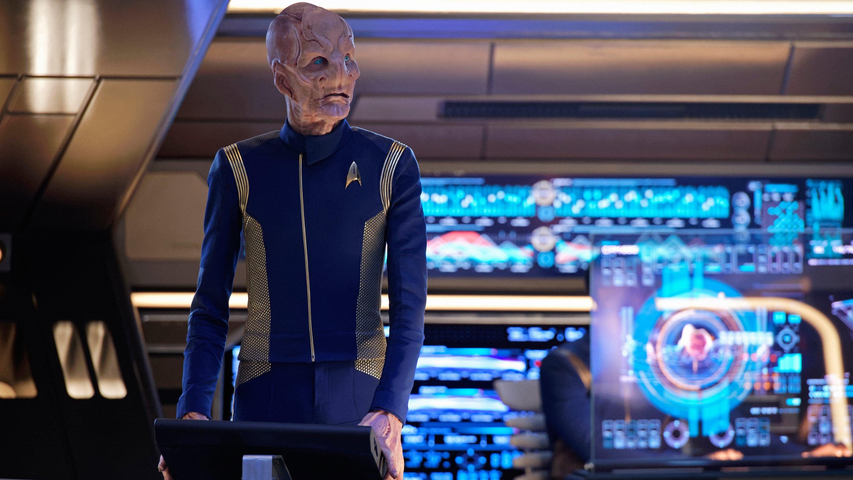 Wciąż nie wiemy na 100 procent, czy Saru będzie kapitanem w trzecim sezonie. / Fot. CBS