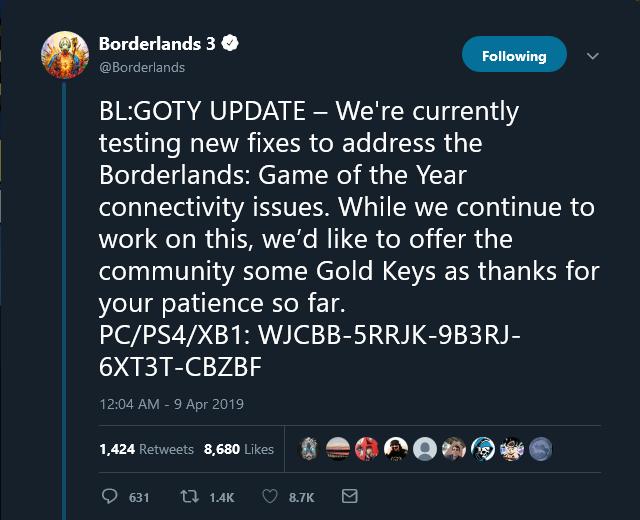 Borderlands - twitter
